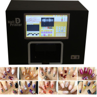 Real Nails Printer Machine with computer inside nail art tool nails painting