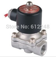 valvula Normally closed Type 2 way 2S series ac220V 2S250 25 1 inch Stainless steel Solenoid Valve for air water oil