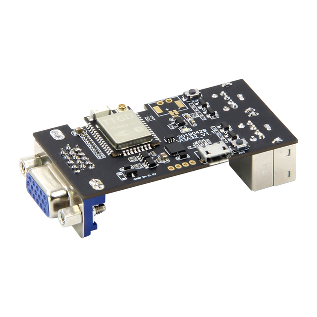 US $13 9 |TTGO VGA32 V1 1 Controller PS/2 Mouse And Keyboard Controller  Graphics Library Game Engine And ANSI/VT Terminal For The ESP32-in  Replacement