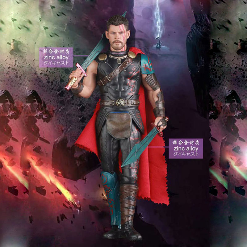 Thor Ragnarok Gladiator Thor Action Figure 1 6 scale painted figure Crazy Toys Gladiator Thor PVC