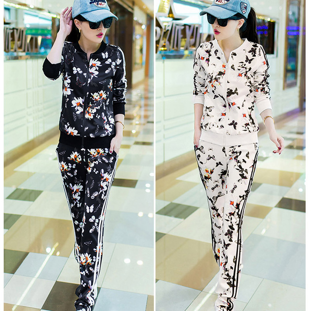 593be121b3 Mujer Sport Suit marca conjunto de ropa deportiva Casual sudaderas con  capucha Twinset para mujer de