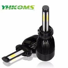 Yhkoms D1S D2S D3S D4S светодио дный H4 Авто светодио дный лампа H8 H11 9005 HB3 9006 HB4 H1 H3 880 881 H27 фары автомобиля Canbus светодио дный фар 6000 К