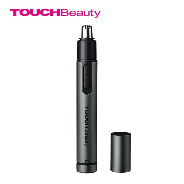 TOUCHBeauty Aluminium Nose Ear Trimmer Portable Finger Size Powerful Strength Battery Operated Brand Trimmer TB-0656M
