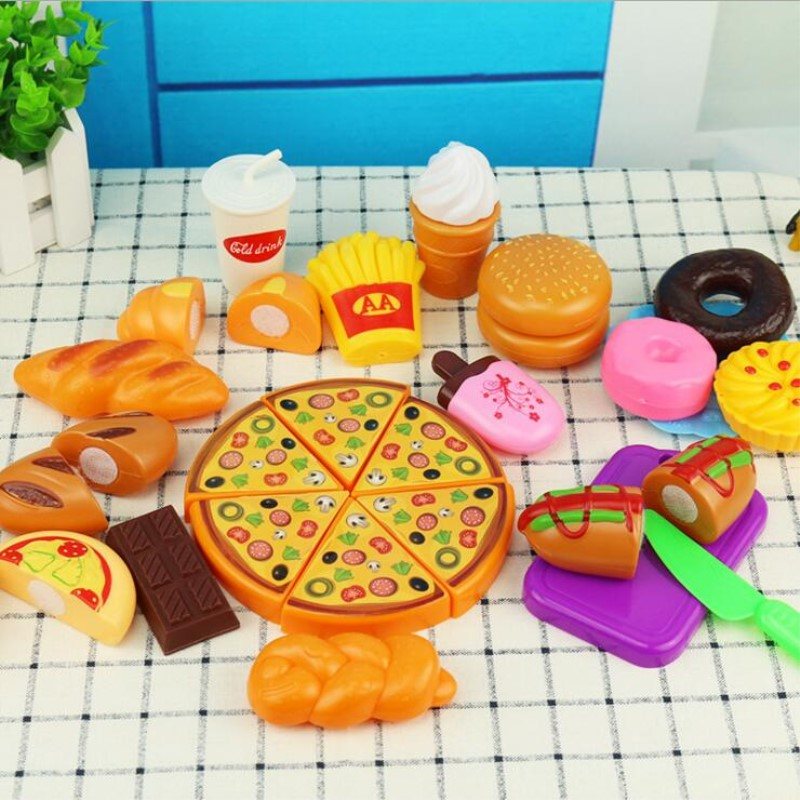 20pcs The smart valley food bread toy looks at the plastic squishy toys