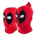 2016 Nova Maravilha Deadpool Superhero Máscara Fresco Cosplay Halloween Tecido Respirável Máscara Facial Manter Quente Balaclava Hat Hot Sale
