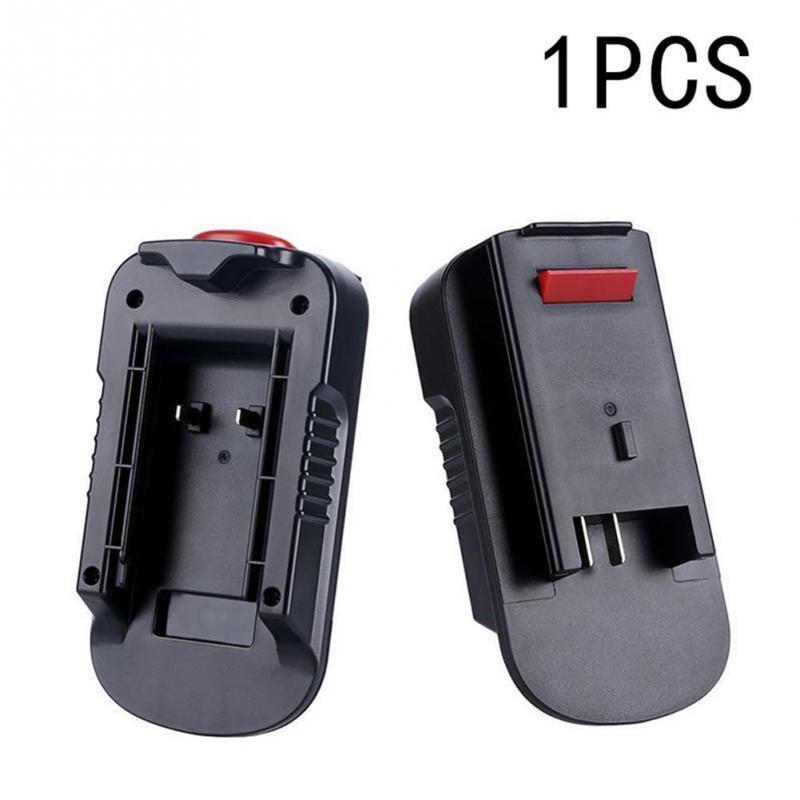 New Hot 1PC 20V Battery Adapter Converter for Black Decker 18V Tools Drop Shipping #0516 eleoption dca1820 18v to 20v battery converter adapter for dewalt battery