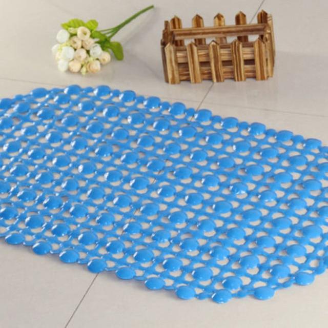 new pvc anti slip bath mat plastic home bathroom pearl bath mat u0026 floor mat - Plastic Floor Mat
