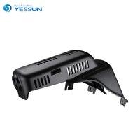 For Volvo XC60 Car Driving Video Recorder DVR Mini Control APP Wifi Camera Black Box Novatek