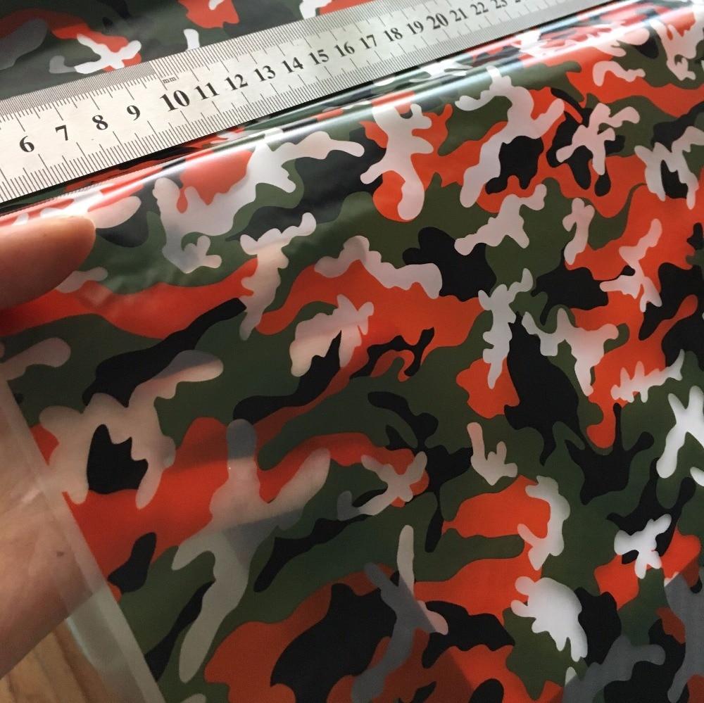 Классическая красная камуфляжная гидрографическая пленка иммерсионная печать пленка 0,5 м декоративные материалы. HFJ031