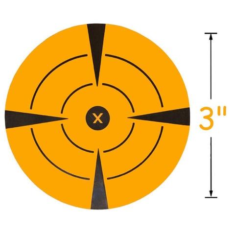 novos 250 pces 3 alvo adesivos alvos autoadesivos para fotografar papel adesivo tiro alvo para