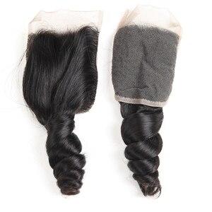 Image 5 - Karizma mèches péruvienne, cheveux non remy loose wave, 100% cheveux naturels, extension de cheveux, avec lace closure, lot de 4