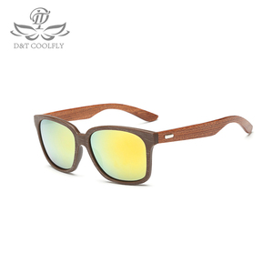 Image 2 - Fashion Wooden Men Women Sunglasses Summer Classic Bamboo Sunglasses Brand Designer Original Frame Handmade Sun Glasses  1519