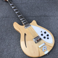 High Quality 4 strings Clear paint Electric BASS Guitar,free shipping!
