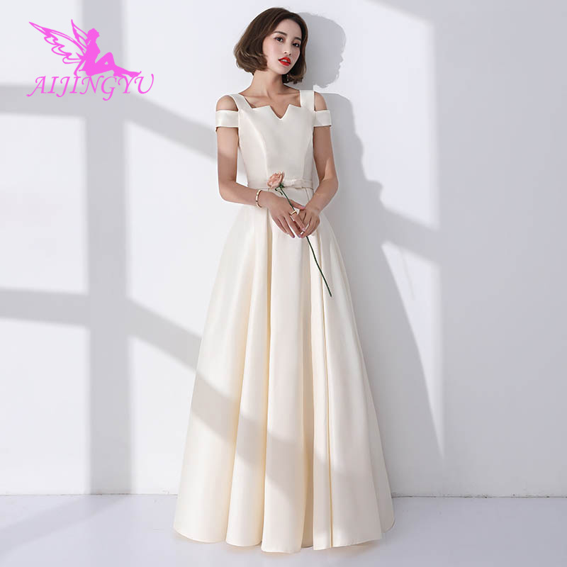 AIJINGYU 2018 Hot Sexy Wedding Party Bridesmaid Dresses Short Formal Dress BN156