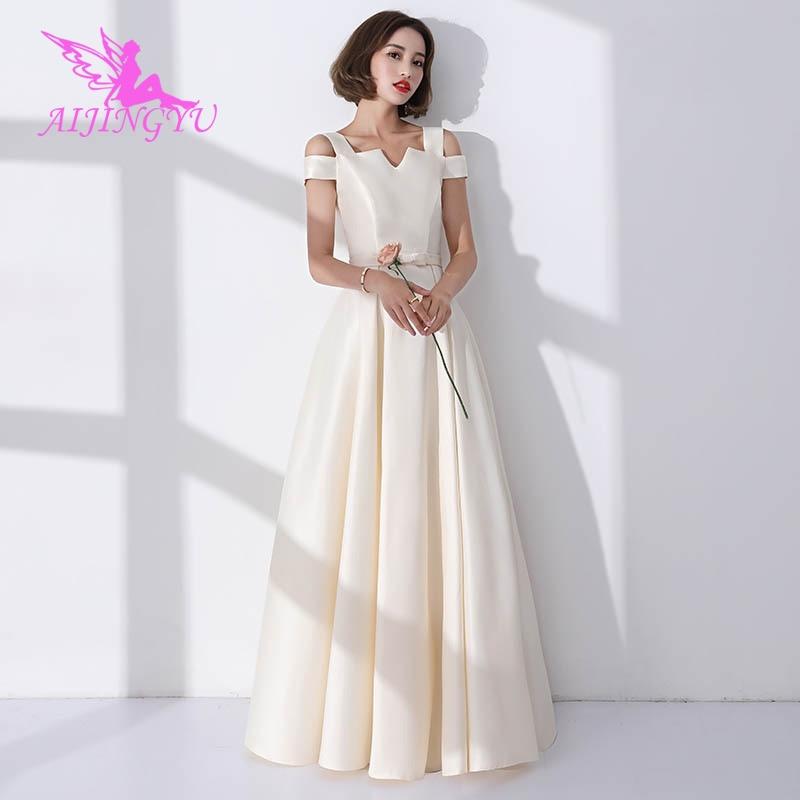 AIJINGYU 2018 hot sexy wedding party bridesmaid dresses short formal dress BN156
