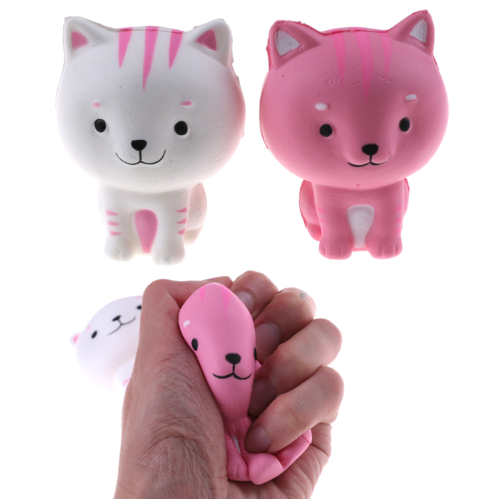 Novelty & Gag Toys Jumbo Squishiest Bread Cartoon Squishy Slow Rising Squeeze Toy Gift Fun Antistresses Stress Reliever Decor Collection Ap02f