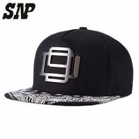 NEW Cayler Sons Snapbacks Caps Flat Brim Black Ajustable Baseball Snapback Hats And Caps Men Women