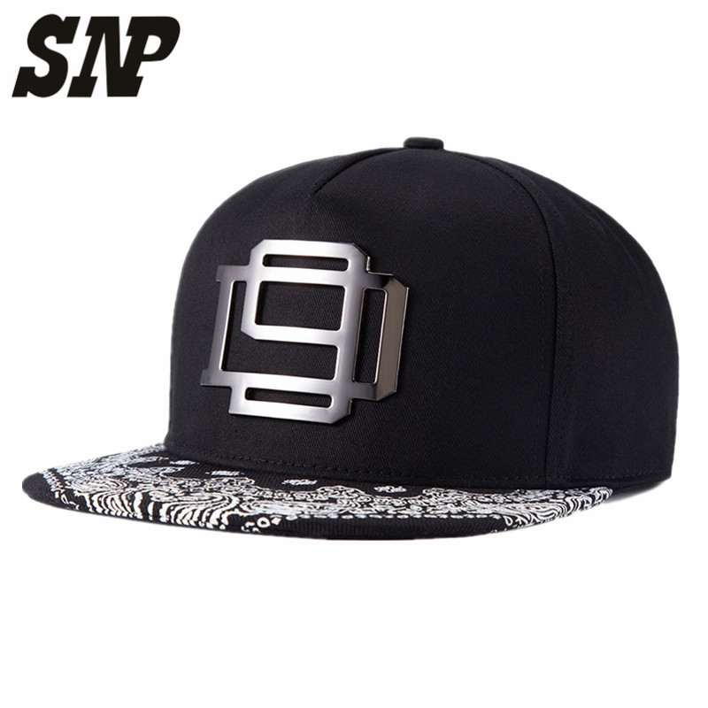 SNP 5panel black Snapback baseball Caps flat hat black  men women bones hip hop cap ajustable One Size 56-60cm flying art baseball cap flat brimmed hat hip hop hat caps man and women snapback
