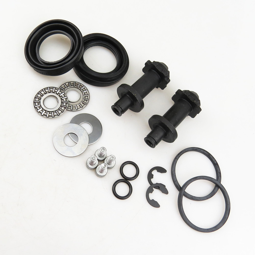 A-STYLE 2Set 12 teeth Rear Hand Brake Motor Caliper Repair Kit For VW Passat B6 B7 CC Tiguan Q3 A4 S4 A5 S5 A6 32326315 32332267