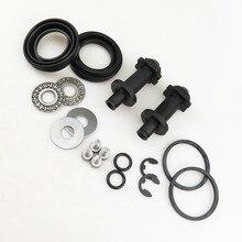READXT 2Set 12 teeth Rear Hand Brake Motor Caliper Repair Kit For Passat B6 B7 CC Tiguan Q3 A4 S4 A5 S5 A6 32326315 32332267