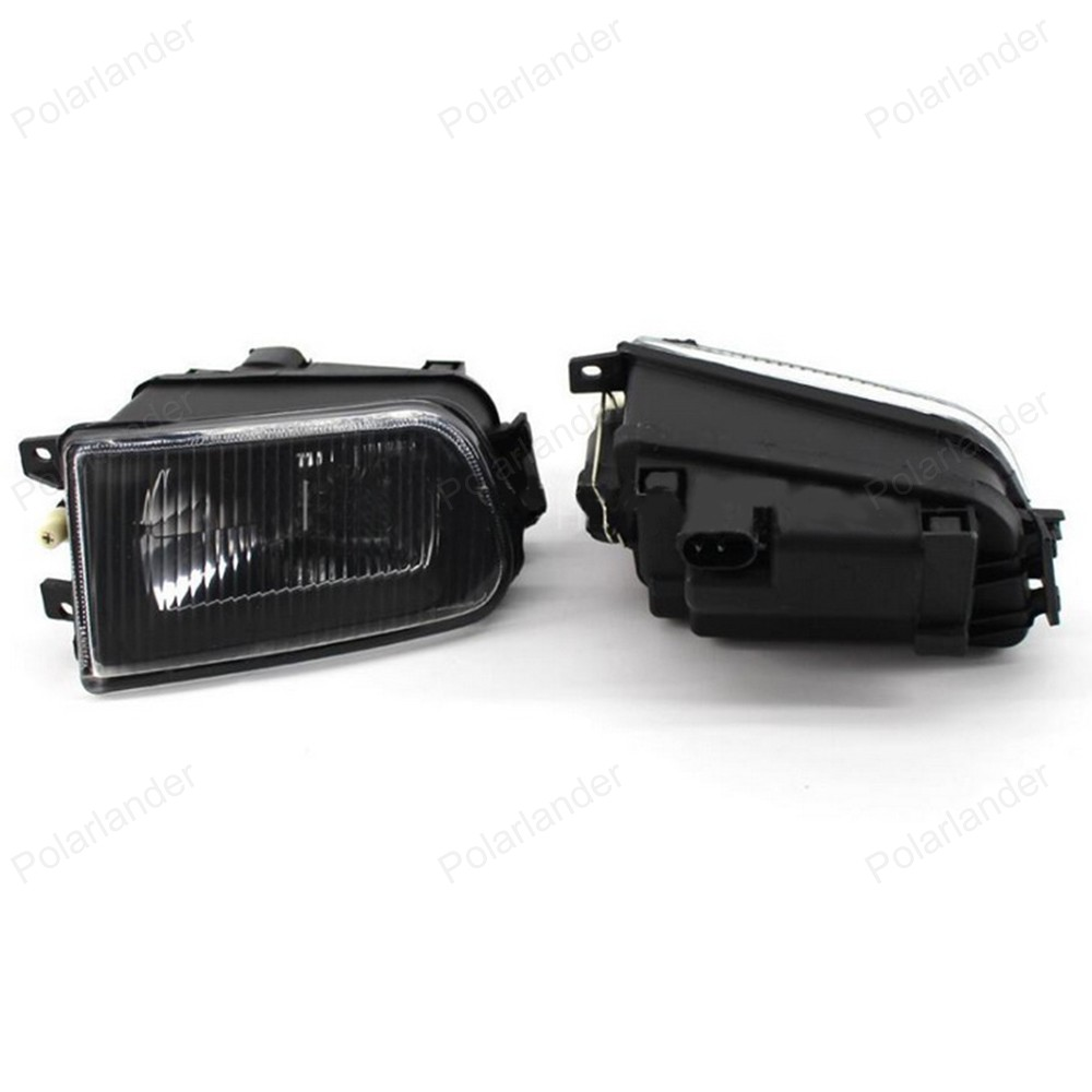 2Pcs Right + Left Fog Light Lamp for B/MW E39 5 Series 528i 540i 535i 1997 -2000 E36 Z3 2001 63178360575 63178360576 запонка arcadio rossi запонки со смолой 2 b 1026 20 e