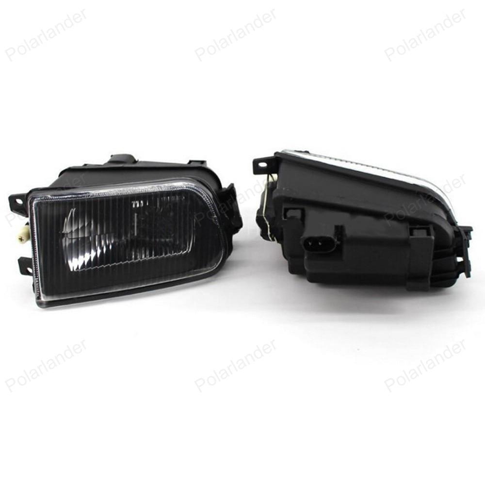 2Pcs Right + Left Fog Light Lamp for BMW E39 5 Series 528i 540i 535i 1997 -2000 E36 Z3 2001 63178360575 63178360576 wisengear clear lens fog lights bumper driving lamp housing for bmw e39 5 series 528i 540i 1997 2000 z3 1997 2001 car styling