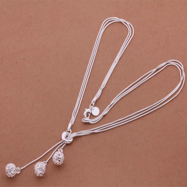 N199 Hot 925 srebro naszyjnik ze srebra próby 925 modny wisiorek/askajjra axoajova
