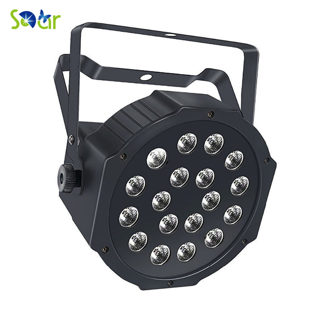 90-240V 18LED Par Lights for Stage Lighting with RGB Magic Effect For Wedding party Disco lights show bar pub club church dance