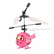 Induction Mini Plane Electric Fly Toys Remote Control RC Helicopter Flying Quadcopter Drone Kids Toy Fairy Doll Best Gifts