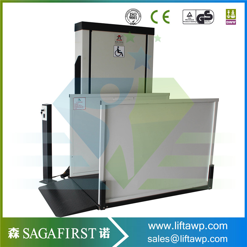 1.2m Vertical Wheelchair Lift For Disabled People