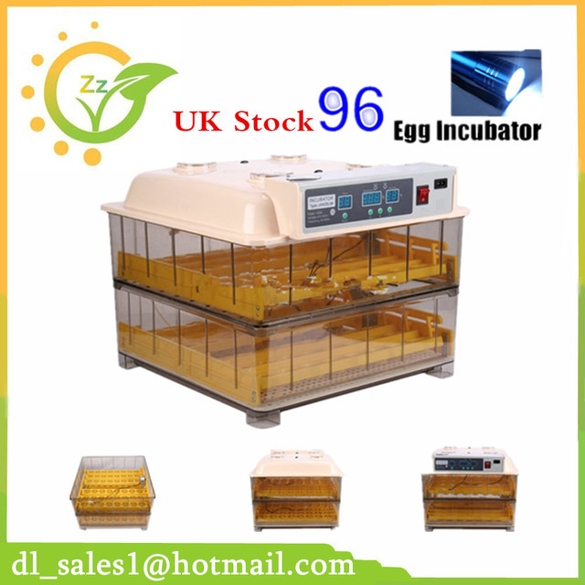 New 1pcs Home Household 96 Eggs Incubator Automatic Small Duck ...