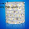 5 m/roll impermeável tira CONDUZIDA SMD 5630 LED softstrip 12 V DC 18 W/M ultra alto brilho IP67 fita led com tampa para uso ao ar livre