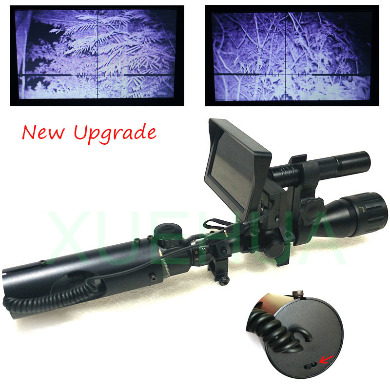 Hot Selling Upgrade Outdoor font b Hunting b font Optics Sight Tactical digital Infrared night vision