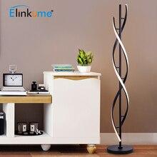 Lâmpada de assoalho moderna do diodo emissor de luz 100 240 v para as salas de estar que estão a luz 30 w do pólo para quartos da família quartos & escritórios luz regulável da decoração
