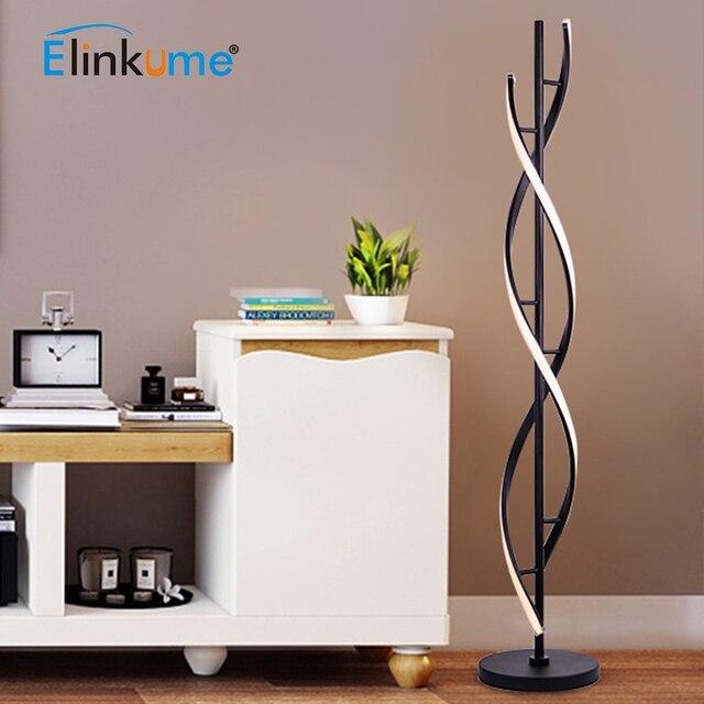 現代の床 Led ランプ 100 240 V リビングルームのための立ちポールライト 30 ワット寝室用家族部屋 & オフィス調光可能な装飾ライト