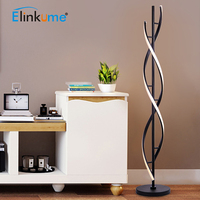 Modern LED Floor Lamp 100 240V for Living Rooms Standing Pole Light 30W for Bedrooms Family Rooms & Offices Dimmable Decor Light