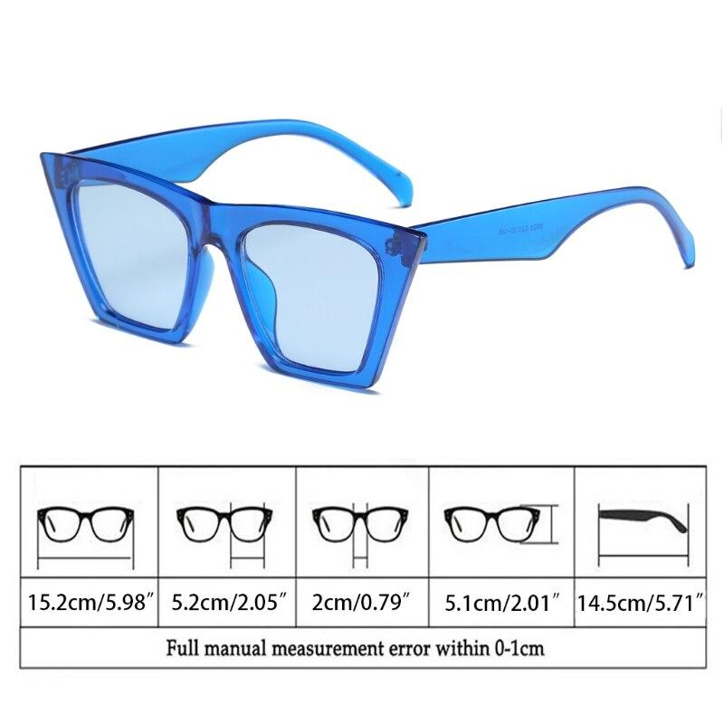 Eye Bk tgy Brillen bkf Cat Übergroßen Rahmen Vintage Designer Sonnenbrille Uv400 Shades wr bl Frauen f qxHvwanX4U