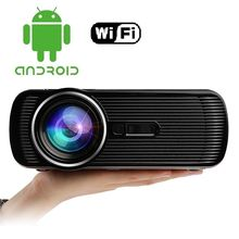 BL80 Portable Smart projector Портативный Мини-Проектор Android LED ТЕЛЕВИЗОР жк HDMI PC Игры Видео Projetor Proyector 3D Бимер 1080 P Full HD ТВ Домашний Кинотеатр