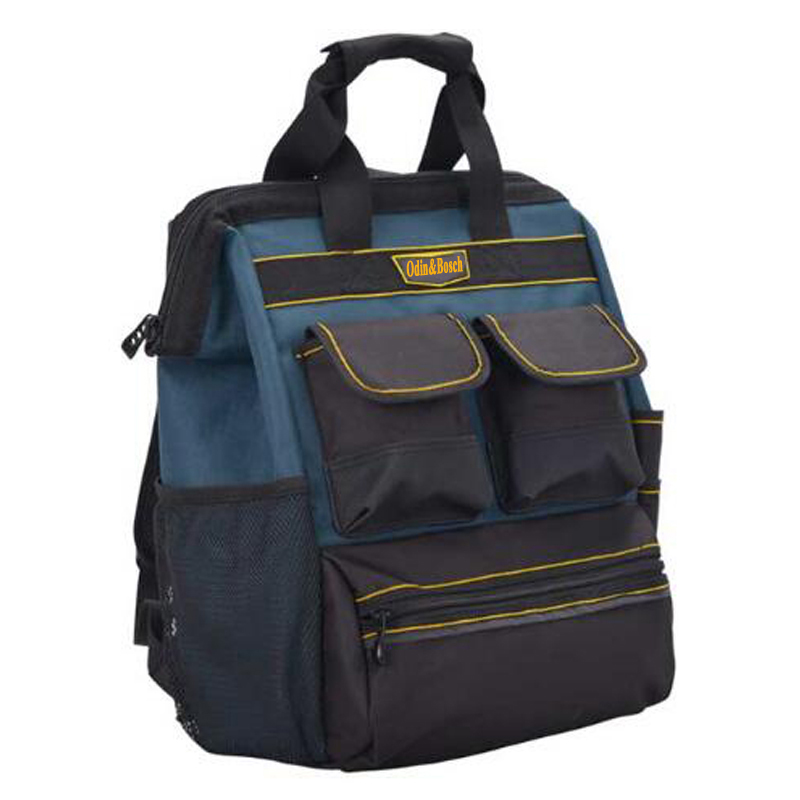Odin Bosch Double Shoulder Tool Backpack Canvas Electrician Bag Large Capacity Maintenance In Bags From Tools On