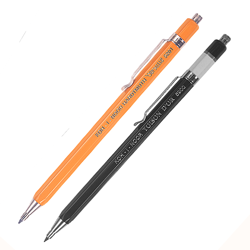 Koh-i-noor Mechanical Pencil 2.0 Mm Pencil Lead Automatic Pencil Engineering Sketching Drafting Pencil Office Stationery