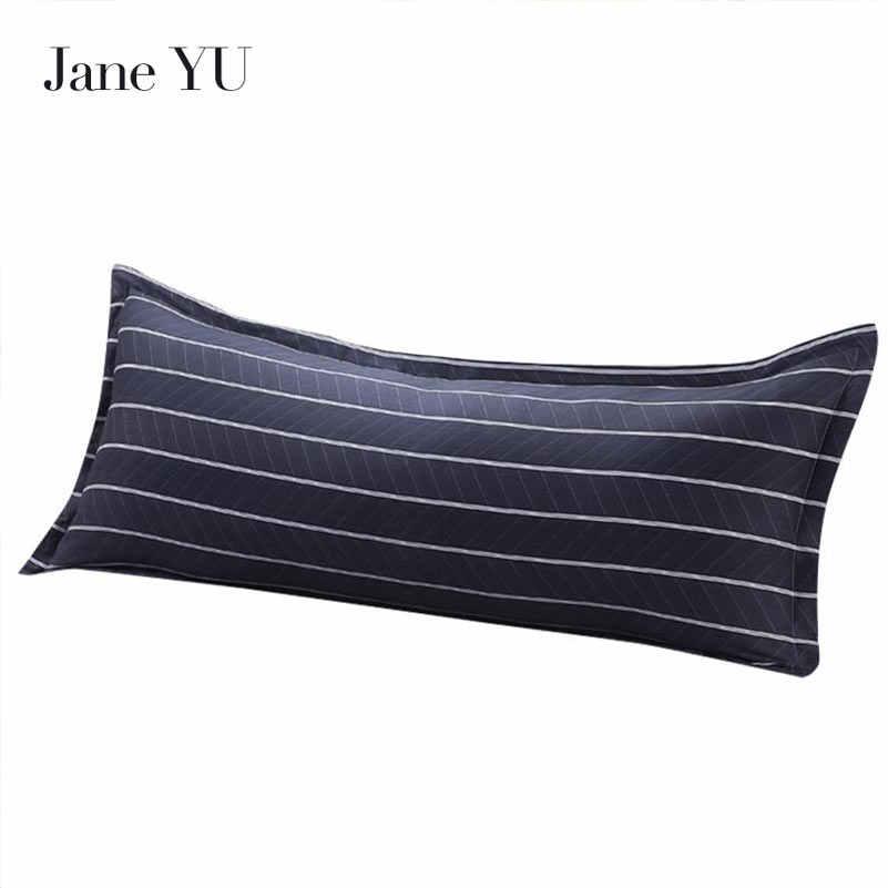 جين يو 100% ٪ الأزياء 48*120 سنتيمتر 48*150 سنتيمتر طويلة سادة لينة تنفس القطن وسادة القضية الغلاف