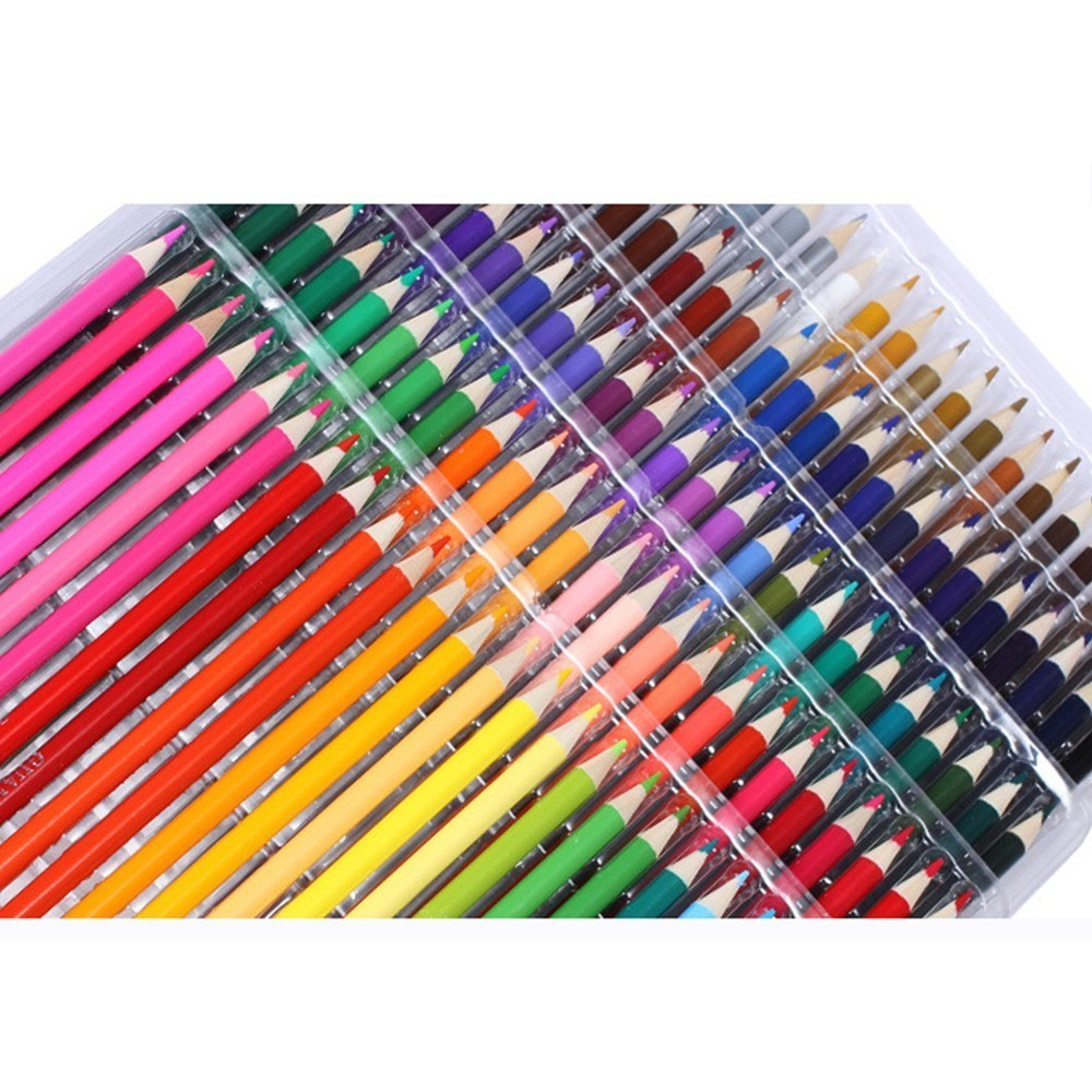 GOOD Cartoon color pen 72 color graffiti oily water-insoluble cute kawaii pencil painting supplies Time limited best 72 color cartoon color pen graffiti oily water insoluble cute kawaii pencil drawing tools painting supplies