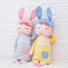 ins Unique Gifts high quality Sweet Cute Angela rabbit doll Metoo baby plush doll for kids panda butterfly bee poupee dolls