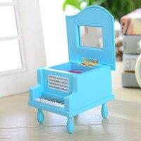 Цвет модель фортепиано музыкальную шкатулку, любителей полноценного подарок, косметическое зеркало украшения дома