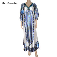 Mr Hunkle 2017 New Design Traditional African Clothing Print Dashiki Diamonds African Mens Maxi Dresses