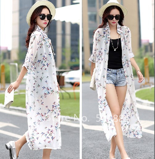 Women Dress Summer 2017 New Arrival Casual Butterfly Printed ...