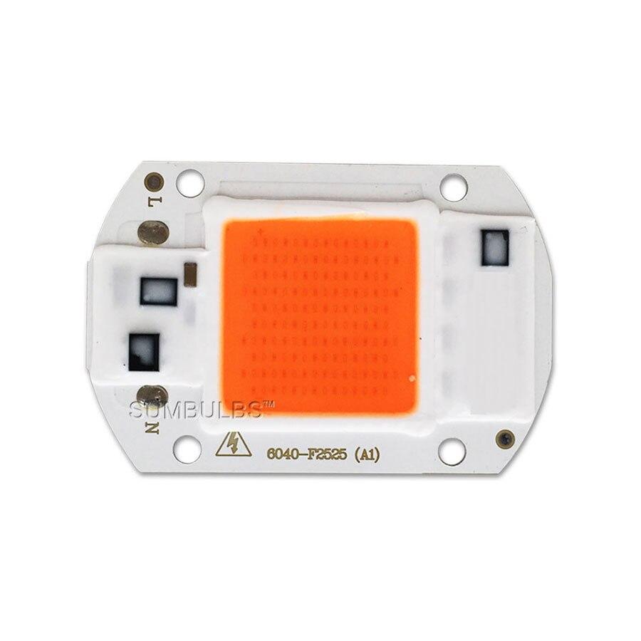 Levou Crescer Luzes da lâmpada chip de espectro Led Light Size : 60*40*2mm