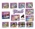 Hot Sale NEW 6pcs Bela Friends Building Blocks 6pcs Girls Friends Bricks educational toys Replica not Compatible with