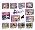 Hot Sale NEW 6pcs Bela Friends Building Blocks 6pcs Girls Friends Bricks educational toys Replica not Compatible with