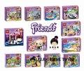 Venta caliente NUEVO 6 unids Bela Amigos Ladrillos juguetes educativos Bloques de Construcción 6 unids Chicas Amigos Réplica no es Compatible con
